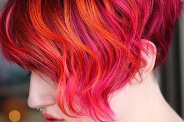 Strawberry Red Hair Color Shades for Short Hair in 2018