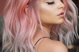 Wonderful Pink Hair Color Highlights in 2018
