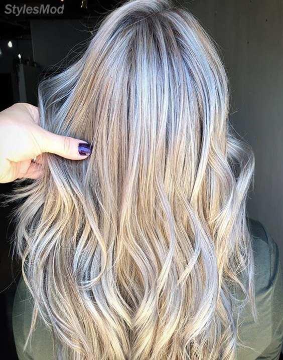 Cool Hair Color Highlight & Ideas for 2018