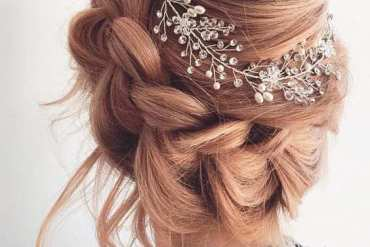 New Look of 2018 Crown Braids Hairstyles for Bridal Girls
