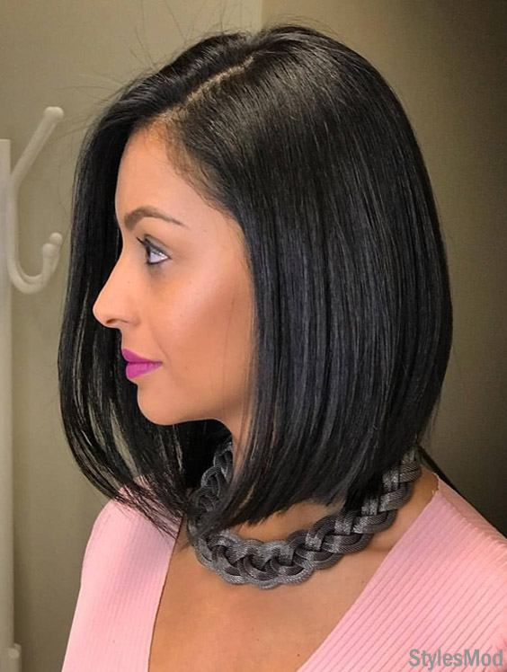 Cute Black Short Haircut Trends & Styles for 2018-2019