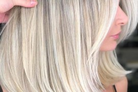 Gorgeous Bright Blonde Medium Hairstyles for 2018