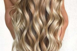 Long Golden Blonde Hairstyles Trends in 2018