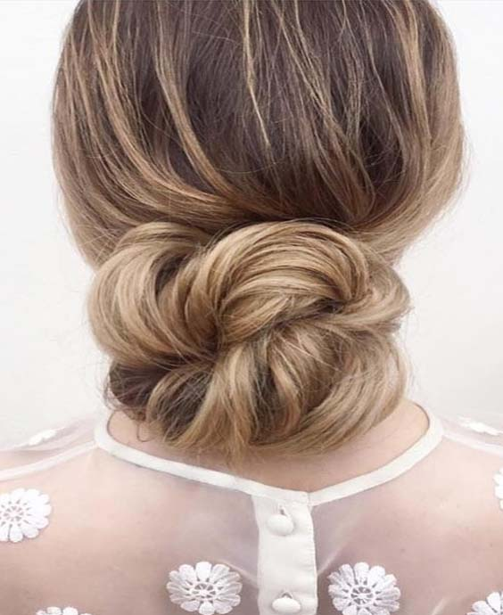 Gorgeous Low Bun Hairstyles For Ladies in 2018 | Stylesmod