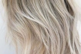 Melted Blonde Hair Colors & Hairstyles for 2018
