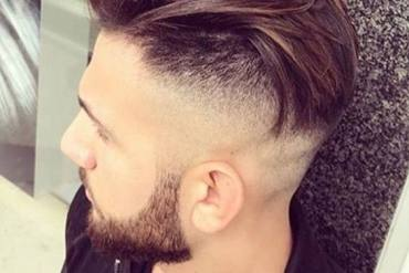 Men's Top Long Hairstyles with Short Beautiful Beard for 2018