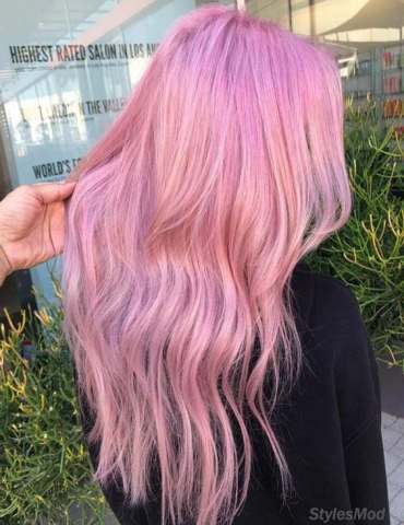 Smart & Modern ways to Wear Pink Hair Color Ideas