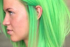 Short to Medium Green Haircuts in 2018