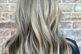 Stunning Balayage & Baby Lights in 2018