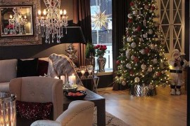 Modern Interior Designs & Home Decor Ideas on Christmas 2018-2019