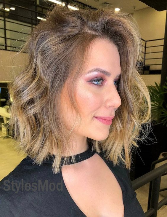 Lovely Short Hairstyle & Cuts for the Current Year of 2018