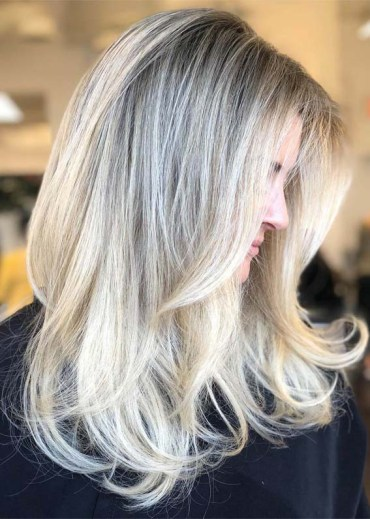 Blowout Blonde Hairstyles for 2019