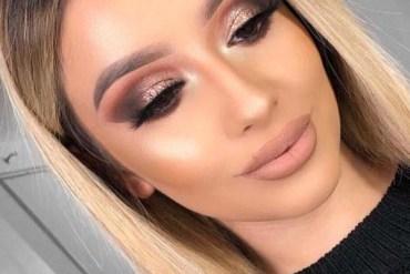 Bronze Smokey Eyes & Hair Color Ideas for 2018
