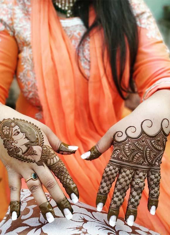 Cutest Mehndi Designs You Must Follow Nowadays