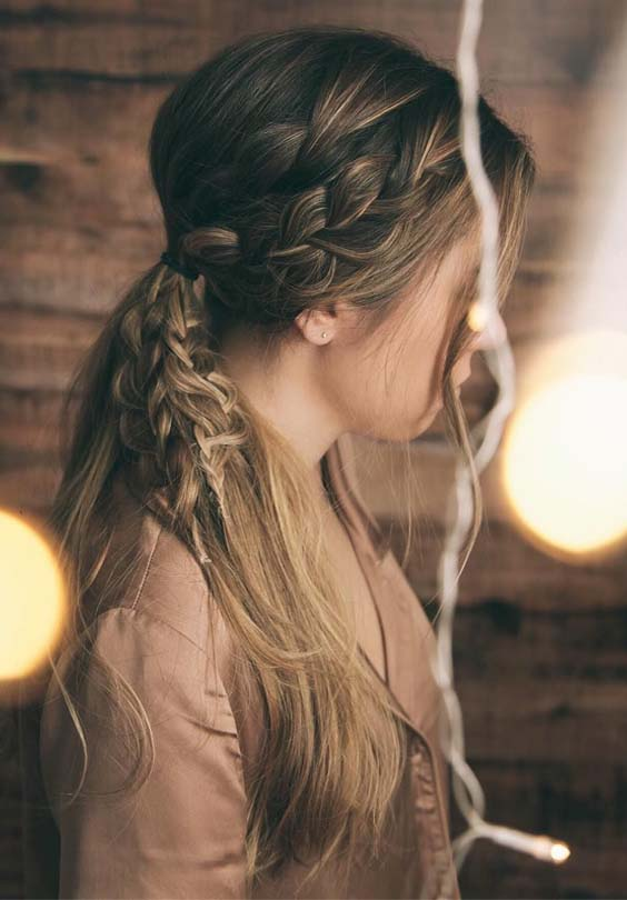 Cutest Ponytail Braids for Ladies in 2019