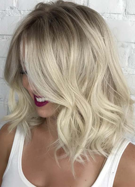Inspirational Shades Of Dirty Blond Hair Colors for Medium Haircuts for 2019