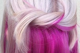 Platinum Blond And Winter Pink Hair Color Shades To Try in 2019