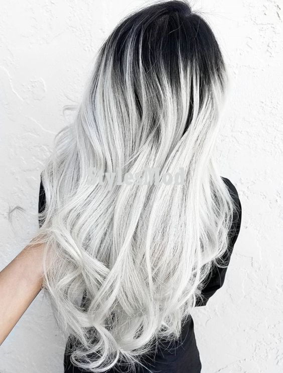 super cool hair color combination