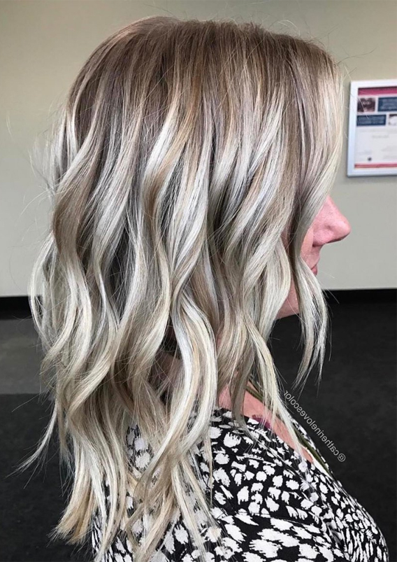 Fresh Ash Blonde Hair Color Trends For Women In 2019
