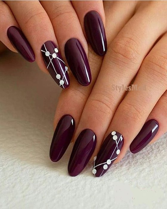 Classical Red Nail Art Designs & Styles for 2019 Girls