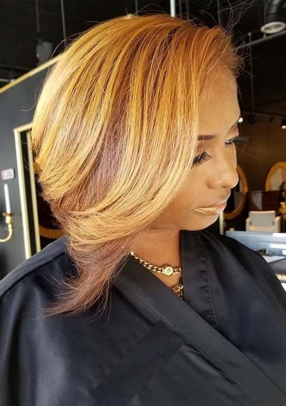 Best Dark Golden Mahogany Blonde Hair Color Ideas In 2019