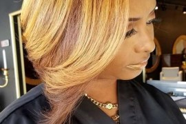 Dark Golden Mahogany Blonde Hair Color Ideas for 2019