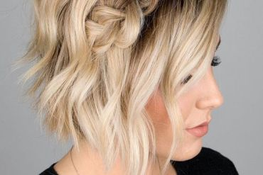 Delightful Dutch Braid Hairstyle Ideas for Short Hair In 2019