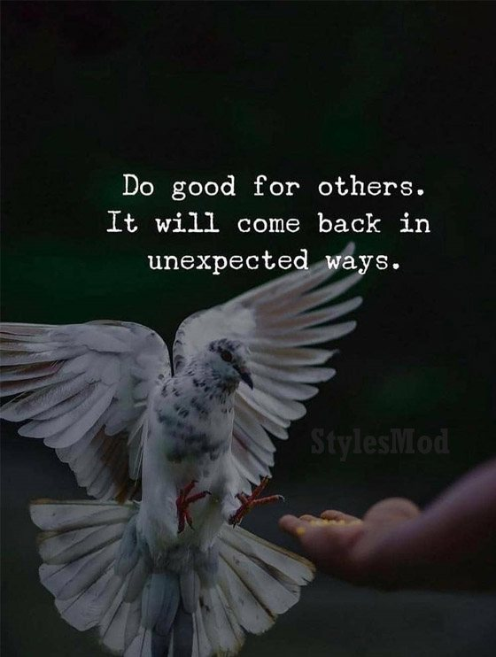 Do Good for others - Best 2019 Positive Quotes