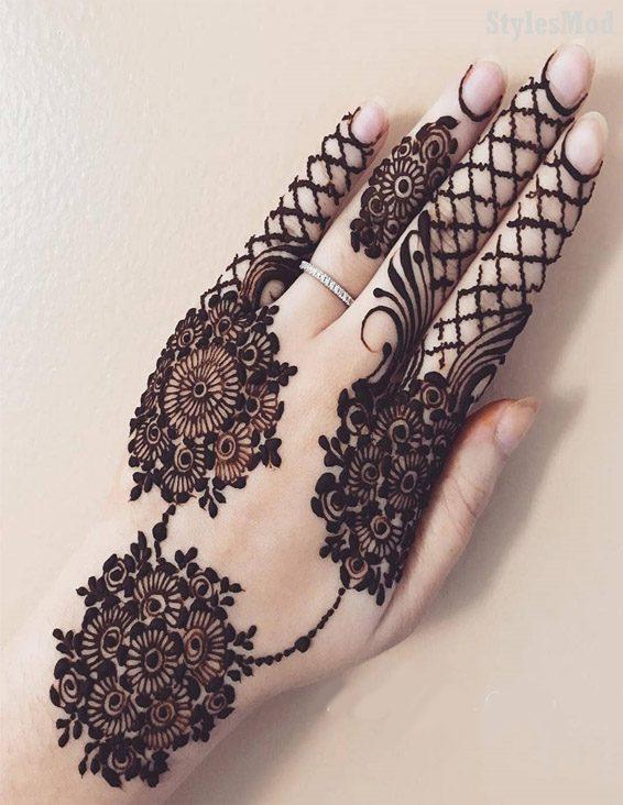 Fabulous Bridal Mehndi Designs & Images for 2019