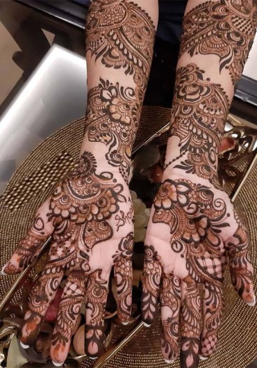 Fantastic Bridal Mehandi Designs for 2019