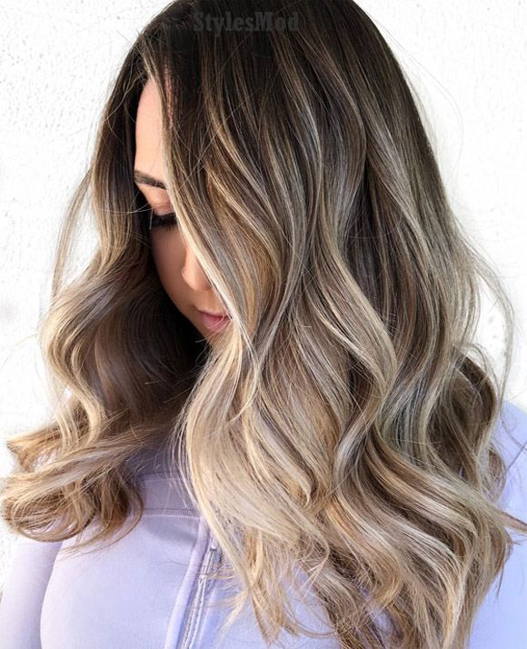 Dark Hair Color Trends 2019: Fresh Babylights Hair Color Trends In 2019