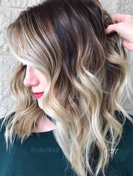 Lovely Hair Color Dimensions Amp Highlights For 2019 Stylesmod