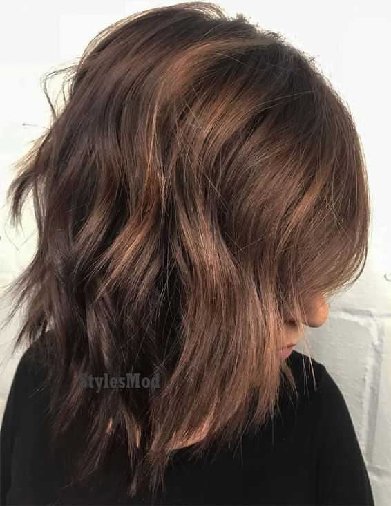 Lovely Milk Chocolate Hair Color Highlights In 2019 Stylesmod
