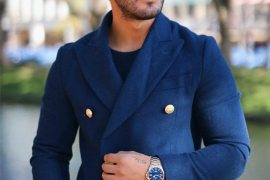 Winter Season Professional Blue Coat for Men's In 2019