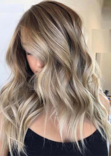 Amazing Balayage Blonde Hairstyles for 2019