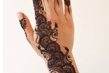 Gorgeous Mehndi Style & Designs for Wedding Day In 2019