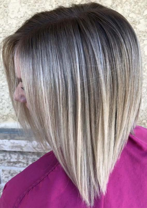 Sun-kissed Blonde Balayage Hair Color Shades for 2019