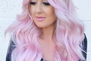 Pink Balayage Hairstyles & Hair Color Highlights for 2019