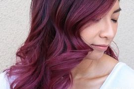 Black Berry Wine Hair Color Shades for 2019