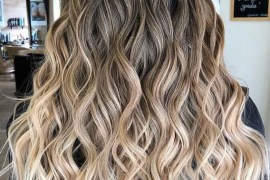 Fabulous Balayage Shades & Waves Hair Look in 2019