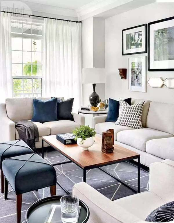 Home decor ideas for modern living room in 2019