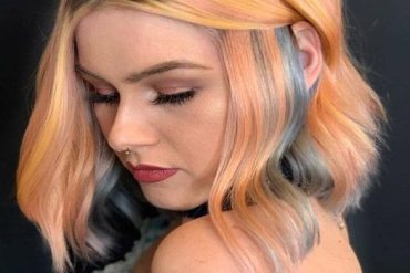 Peach Bob Haircuts & Hairstyles for 2019