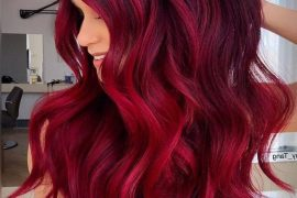 Stunning Pink Hair Color Shades & Highlights for 2019