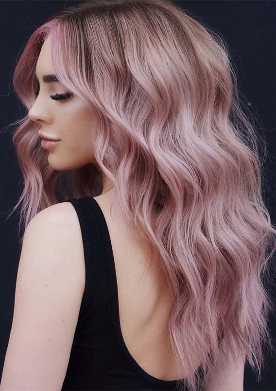 Stunning Pink Pastel Hair Colors & Hairstyles Ideas in 2019