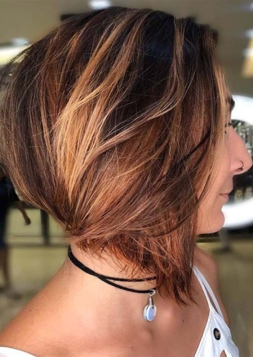 Stunning Stacked Bob Haircuts for 2019