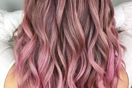 Gorgeous Dark Roots of Pink Hair Color for 2019