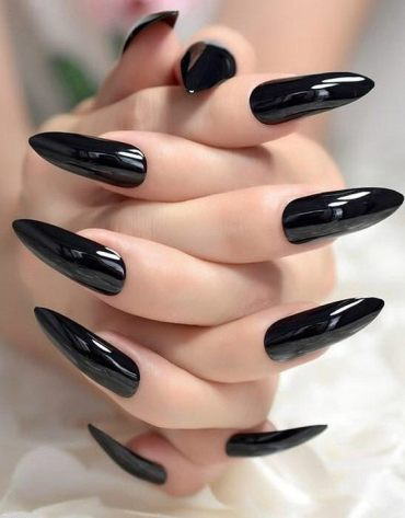 Hottest Black Nail Art Style & Images In 2019