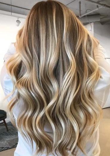 Shining Balayage Hair Colors Highlights for 2019