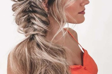 Adorable Fishtail Braids Styles for Women 2019