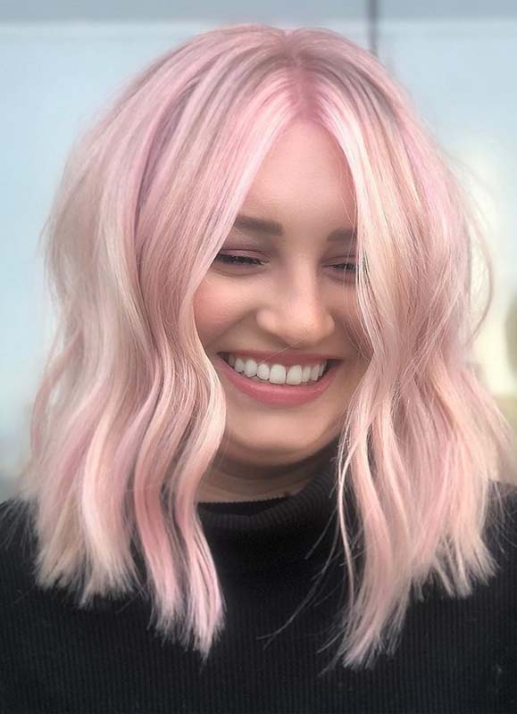 Amazing Shades Of Pink Hair Colors for 2019